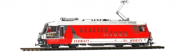 1659 161 - RhB Ge 4/4 III 651 'Glacier on Tour' H0 Normalspur 2L-GS
