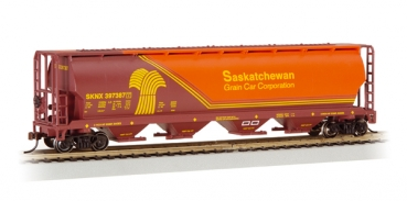 Canadian 4 Bay Grain Hopper Saskatchewan Wheat Herald Ba19140