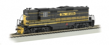 EMD GP7 Locomotive - DCC On Board Rio Grande #5102 Ba62412