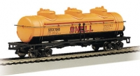 N 40' Three-Dome Tank Car