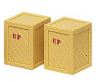 Spur G Two Large Shipping Crates