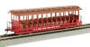HO Jackson Sharp Open-Sided Excursion Car with Seats Ba19349